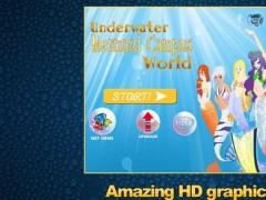 Underwater Mermaid Campus World - Free Fantasy Ocean Love Paradise Frolic & Treasure iPhone/iPad Edition Game 1.1 Screenshot
