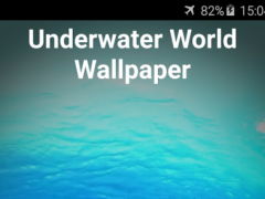 Underwater Video Wallpaper 2.0 Screenshot