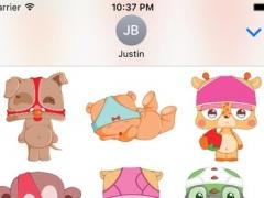 UndieBabies Stickers for iMessage 2.3 Screenshot