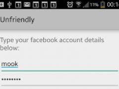 Unfriendly on Facebook 2.0 Screenshot