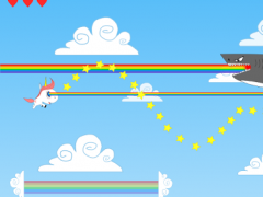Unicorn vs flying Sharks 1.2 Screenshot