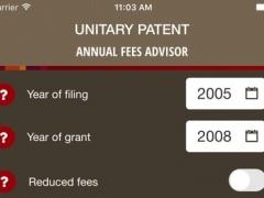 Unitary Patent 1.0.5 Screenshot