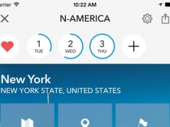 United States of America & Canada Trip Planner, Travel Guide & Offline City Map 3.4.1 Screenshot