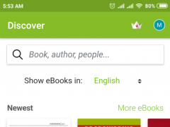 Review Screenshot - Book Reader – Read E-books in Multiple Formats
