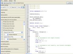 UniversalIndentGUI 1.2.0 Screenshot