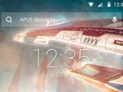 Universe-APUS Launcher theme 612 Screenshot
