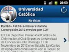 Universidad Católica For Fans 1.4.5 Screenshot