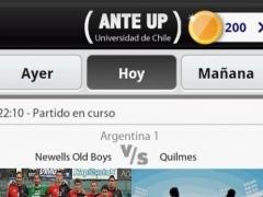 Universidad de Chile - Ante Up  Screenshot