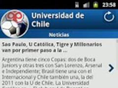 Universidad de Chile For Fans 1.4.5 Screenshot