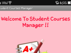 UNIVERSITY COURSES MANAGER 1.0 Screenshot