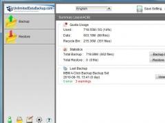 UnlimitedDataBackup.com 5.5.7.0 Screenshot