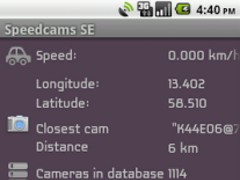 Unlock Speedcams-SE 1.0 Screenshot