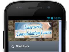 Unsecured Consolidation Loans 2.0 Screenshot