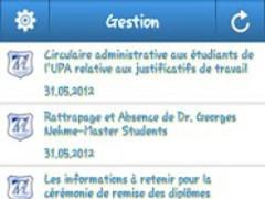 UA Circulaires 2.0 Screenshot