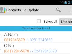 Update Phone Code 1.1 Screenshot