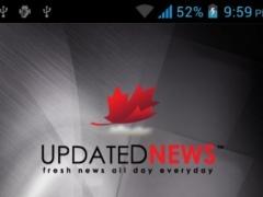 Updated News - updatednews.ca 1.0 Screenshot