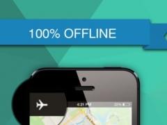 Upper Normandy, France Offline GPS : Car Navigation 1.0 Screenshot