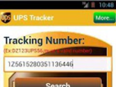 UPS Tracker 3.0.9 Screenshot