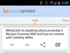 UpVoted 1.0 Screenshot