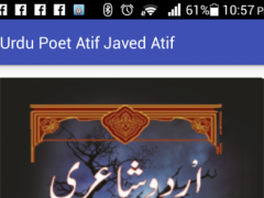 Urdu Poetry By Atif Javed Atif 1.1.1 Screenshot