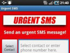 Urgent SMS 2.0 Screenshot