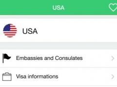 US embassies & consulates overseas 1.0 Screenshot