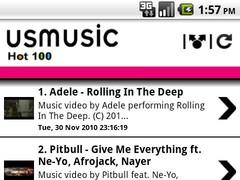 US Music Charts 1.0 Screenshot