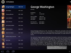 US Presidents for Tablet (Ads) 1.1.0 Screenshot