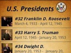US Presidents 1.4 Screenshot