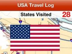USA Travel Log • States Visited 4.0 Screenshot