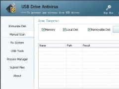 USB Drive Antivirus 3.02 Screenshot