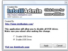 USB Drive Disabler 2.0 Screenshot