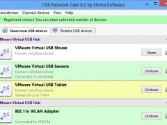 USB over IP Connector 6.2 Screenshot