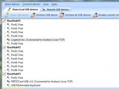 USB over IP Connector 5.0 Screenshot