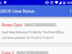 USCIS Case Status 1.7 Screenshot