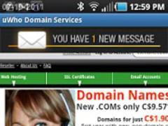 uWho Domain Services 1.1.2 Screenshot