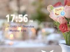V-day Surprise GO Locker Theme 1 Screenshot