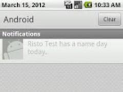 Vārda Diena 1.0 Screenshot