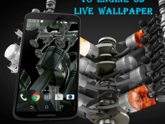 V8 Engine 3D Live Wallpaper 3.0 Screenshot