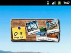 Vacation Countdown Widget 1.6 Screenshot