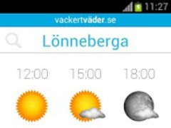 vackertvader.se 1 Screenshot