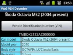 VAG VIN Decoder 1 3 3 Free Download