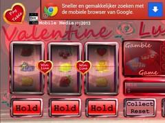 Valentine slot machine free 1.0.0 Screenshot
