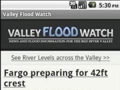 Valley Flood Watch 1.1 Screenshot