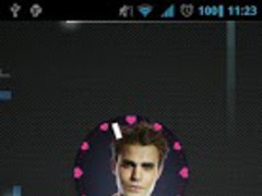Vampire Diaries Stefan clock 1.0 Screenshot