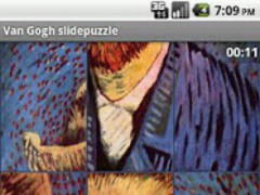 Van Gogh slidepuzzle 1.1 Screenshot