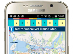 Vancouver Bus Subway Map  Screenshot