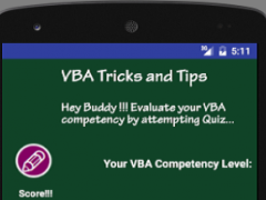 VBA Tricks and Tips 2.4 Screenshot