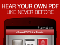 vBookz PDF Voice Reader 1.1.3 Screenshot