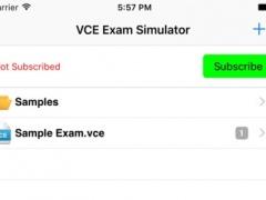 VCE Exam Simulator 1.9.2 Screenshot